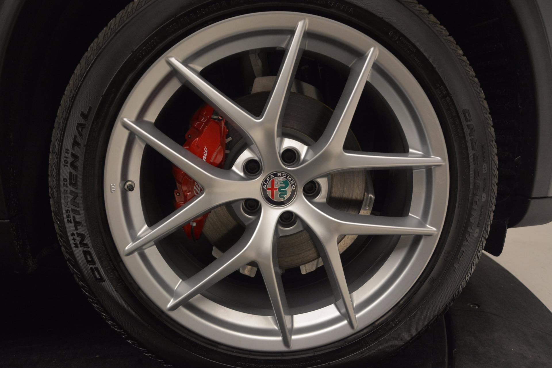 New 2018 Alfa Romeo Stelvio Q4 For Sale In Greenwich, CT 1625_p25