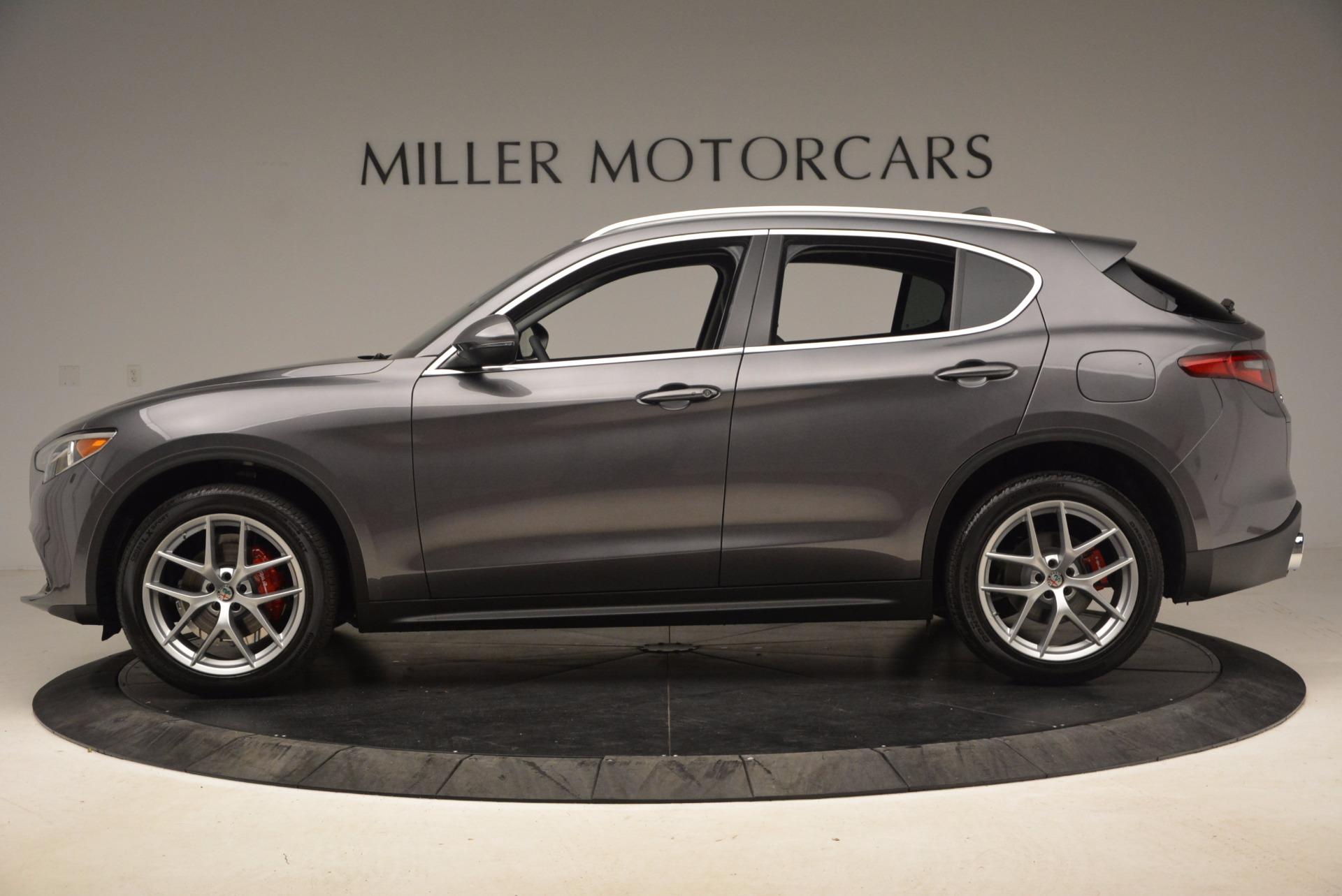 New 2018 Alfa Romeo Stelvio Q4 For Sale In Greenwich, CT 1625_p3