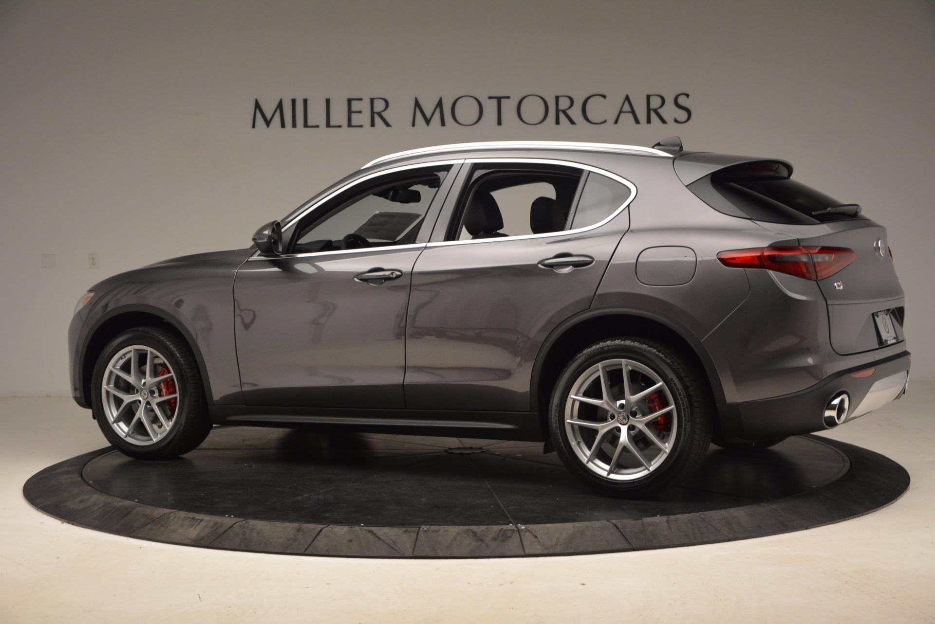 New 2018 Alfa Romeo Stelvio Q4 For Sale In Greenwich, CT 1625_p4