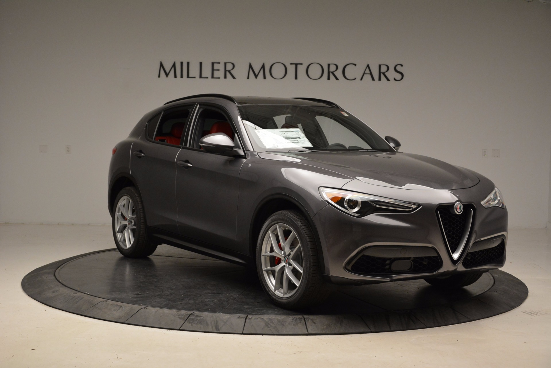 New 2018 Alfa Romeo Stelvio Ti Sport Q4 For Sale In Greenwich, CT 1629_p11