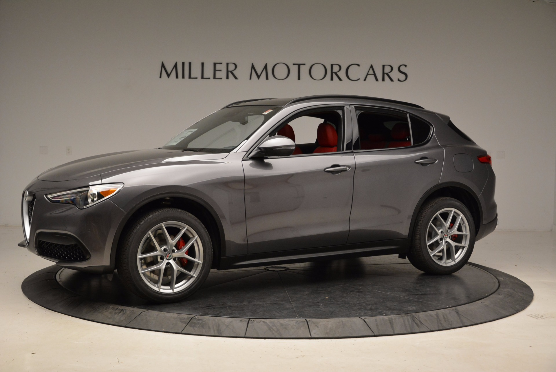 New 2018 Alfa Romeo Stelvio Ti Sport Q4 For Sale In Greenwich, CT 1629_p2