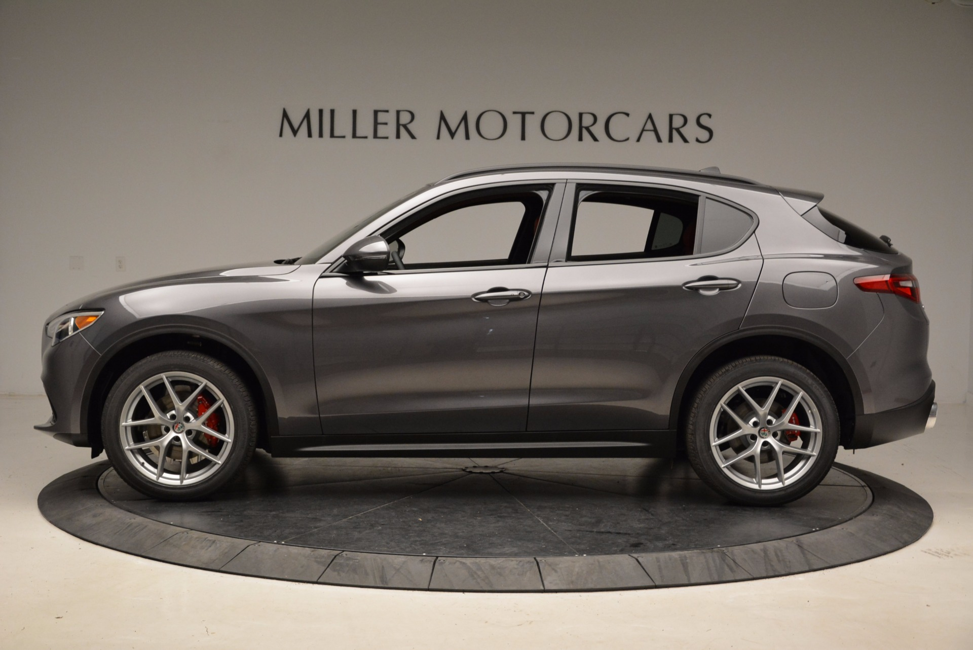 New 2018 Alfa Romeo Stelvio Ti Sport Q4 For Sale In Greenwich, CT 1629_p3