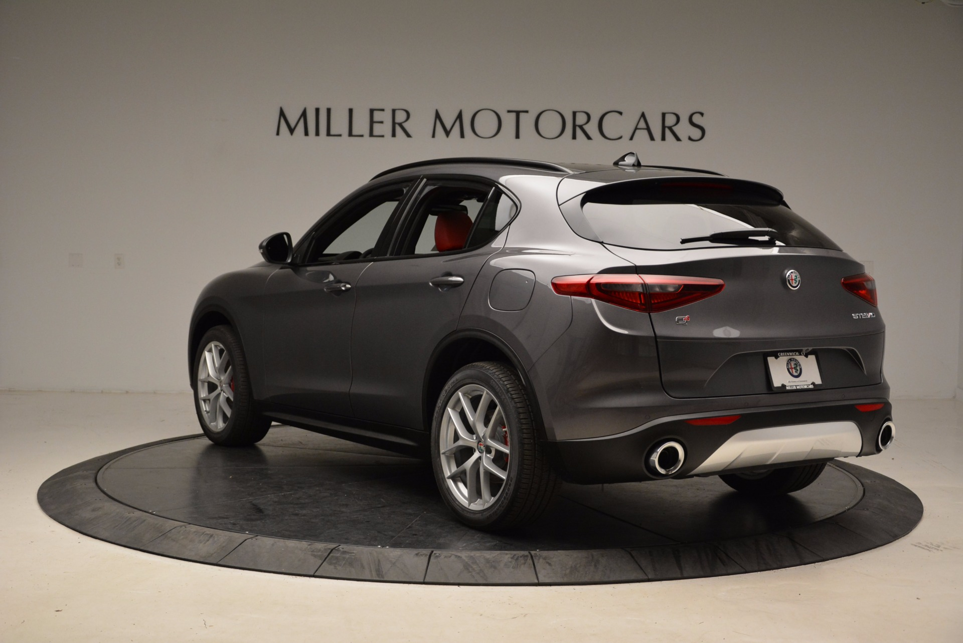 New 2018 Alfa Romeo Stelvio Ti Sport Q4 For Sale In Greenwich, CT 1629_p5