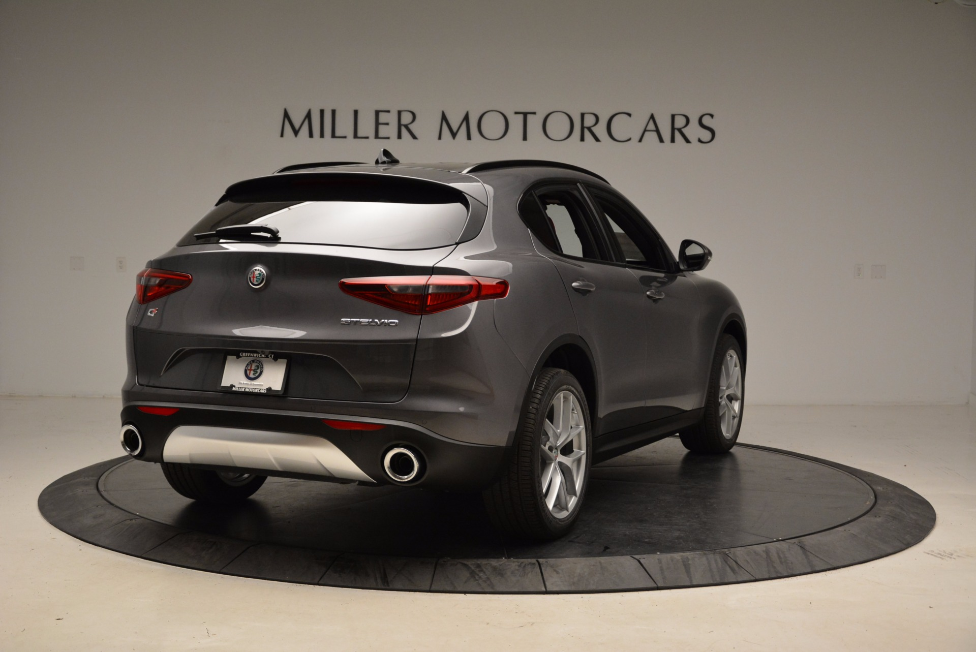 New 2018 Alfa Romeo Stelvio Ti Sport Q4 For Sale In Greenwich, CT 1629_p7