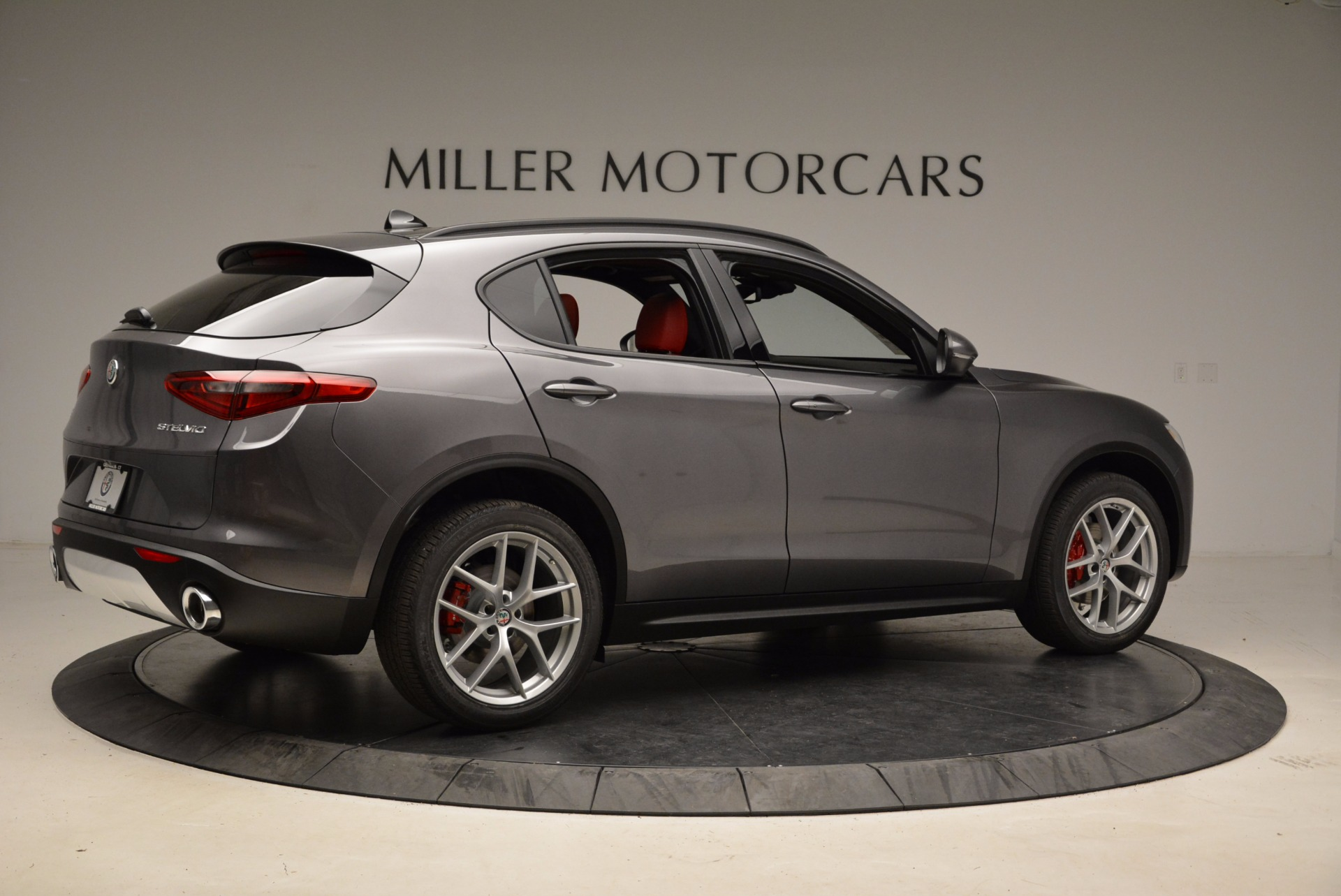 New 2018 Alfa Romeo Stelvio Ti Sport Q4 For Sale In Greenwich, CT 1629_p8