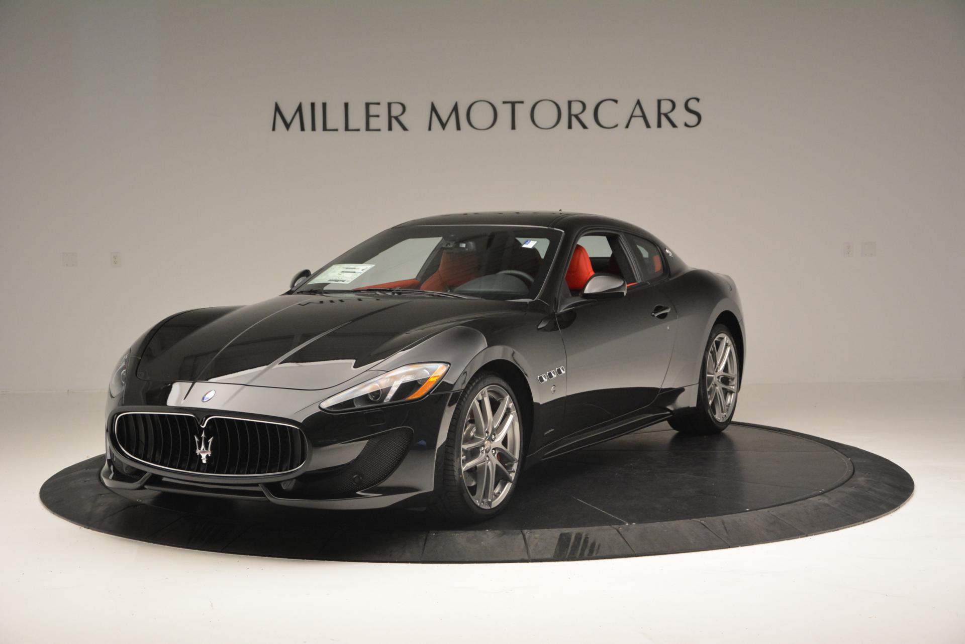 New 2016 Maserati GranTurismo Sport For Sale In Greenwich, CT 163_main