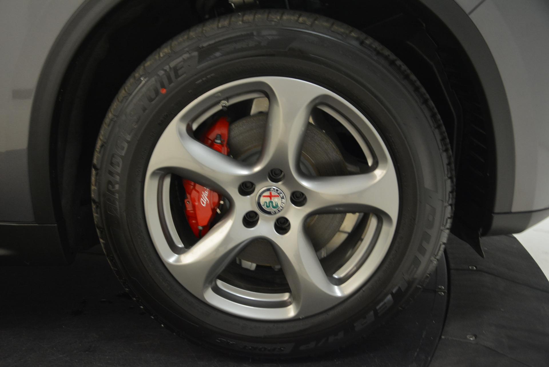 New 2018 Alfa Romeo Stelvio Q4 For Sale In Greenwich, CT 1637_p25