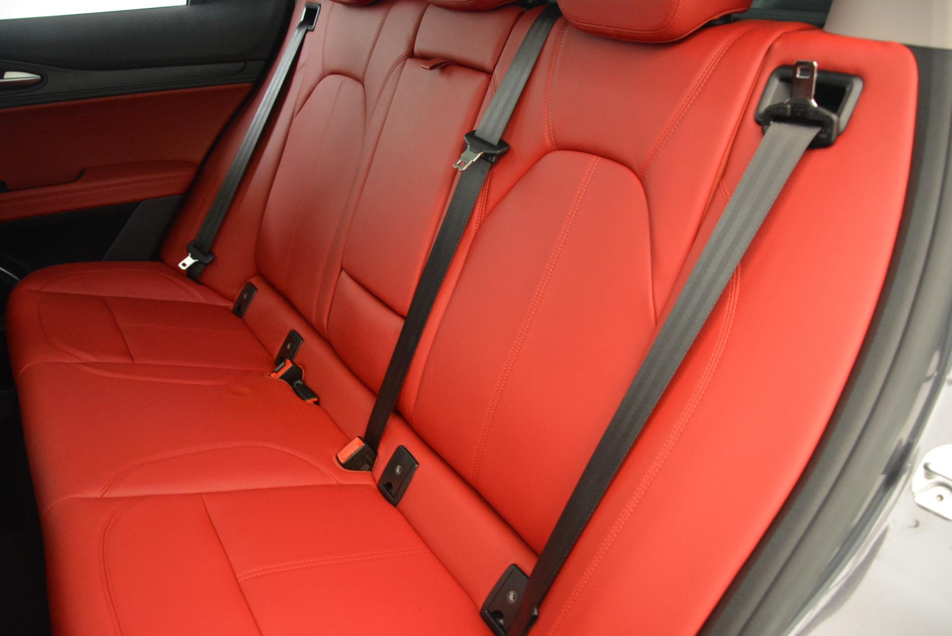 New 2018 Alfa Romeo Stelvio Q4 For Sale In Greenwich, CT 1639_p18