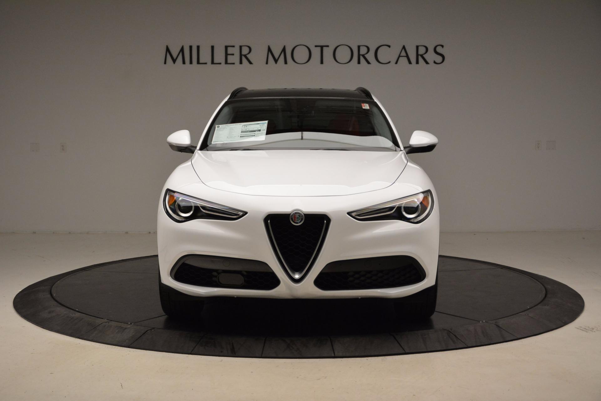 New 2018 Alfa Romeo Stelvio Sport Q4 For Sale In Greenwich, CT 1642_p12