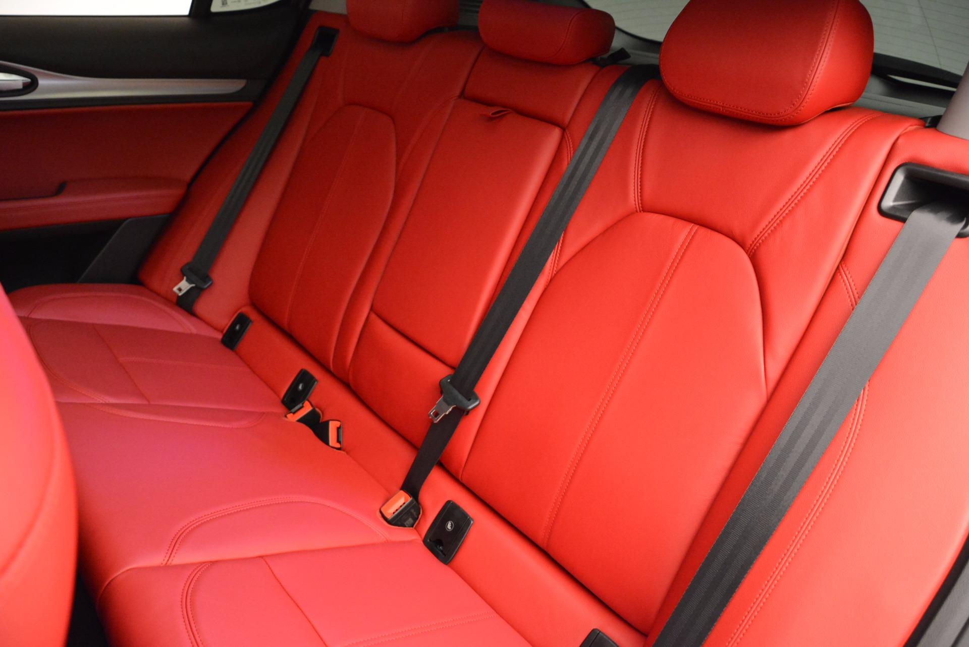 New 2018 Alfa Romeo Stelvio Sport Q4 For Sale In Greenwich, CT 1642_p18
