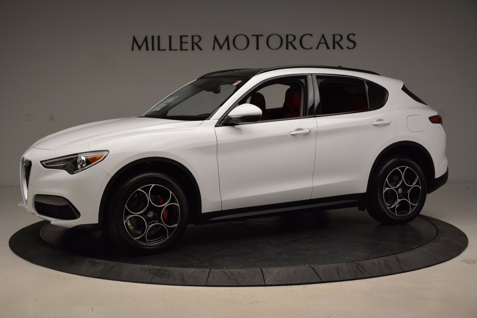 New 2018 Alfa Romeo Stelvio Sport Q4 For Sale In Greenwich, CT 1642_p2