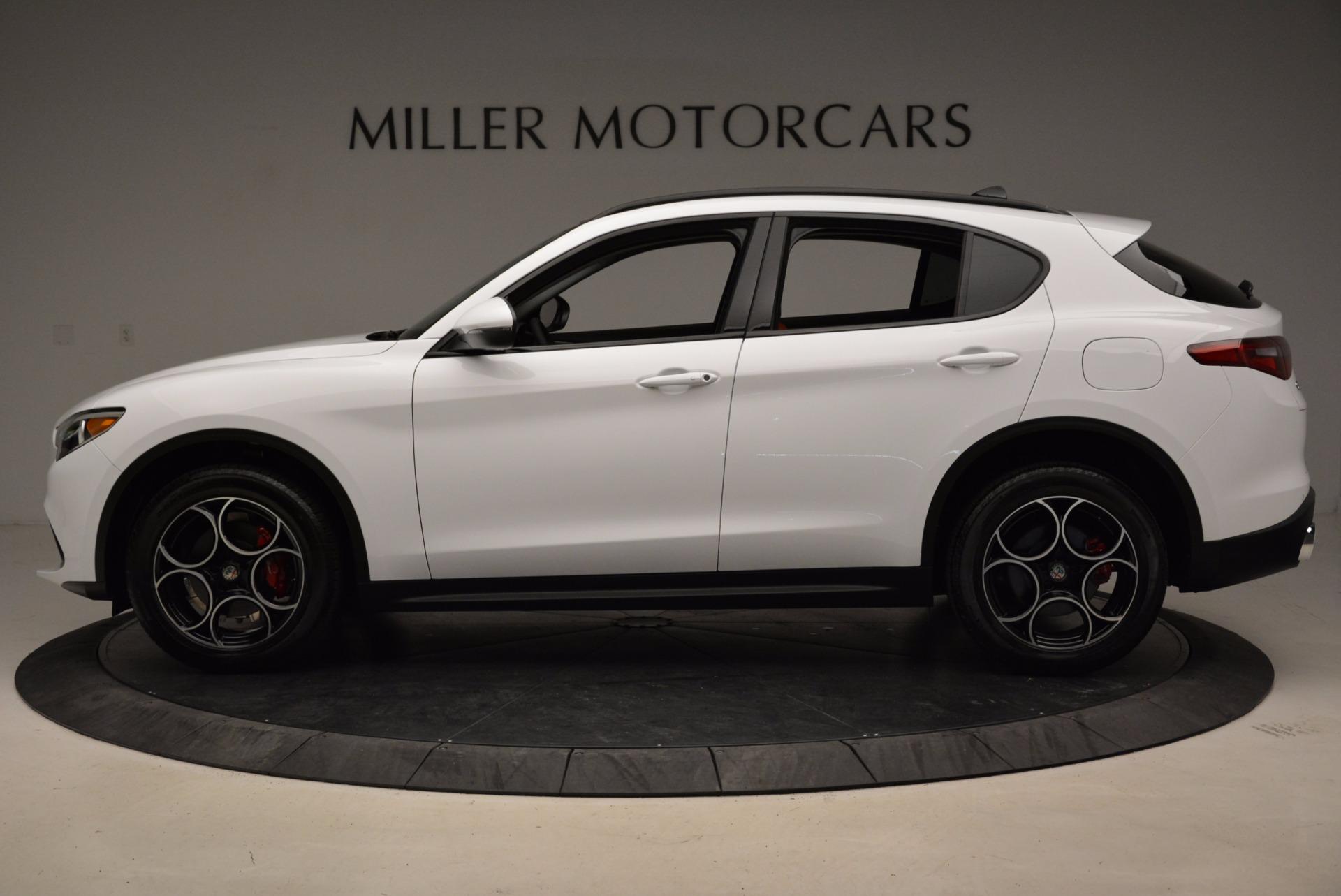 New 2018 Alfa Romeo Stelvio Sport Q4 For Sale In Greenwich, CT 1642_p3
