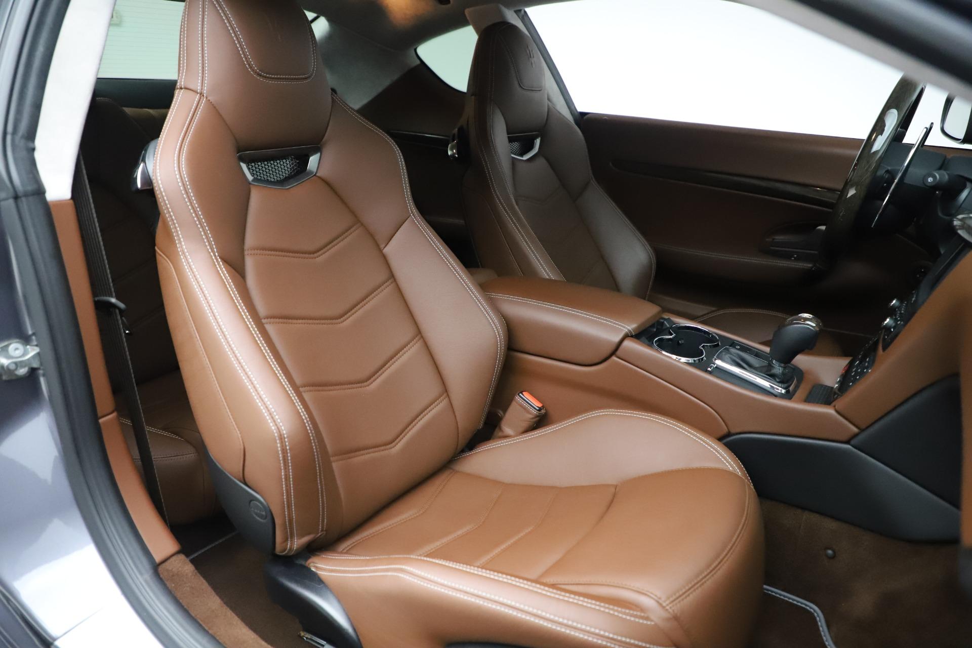 Used 2016 Maserati GranTurismo Sport For Sale In Greenwich, CT 166_p20