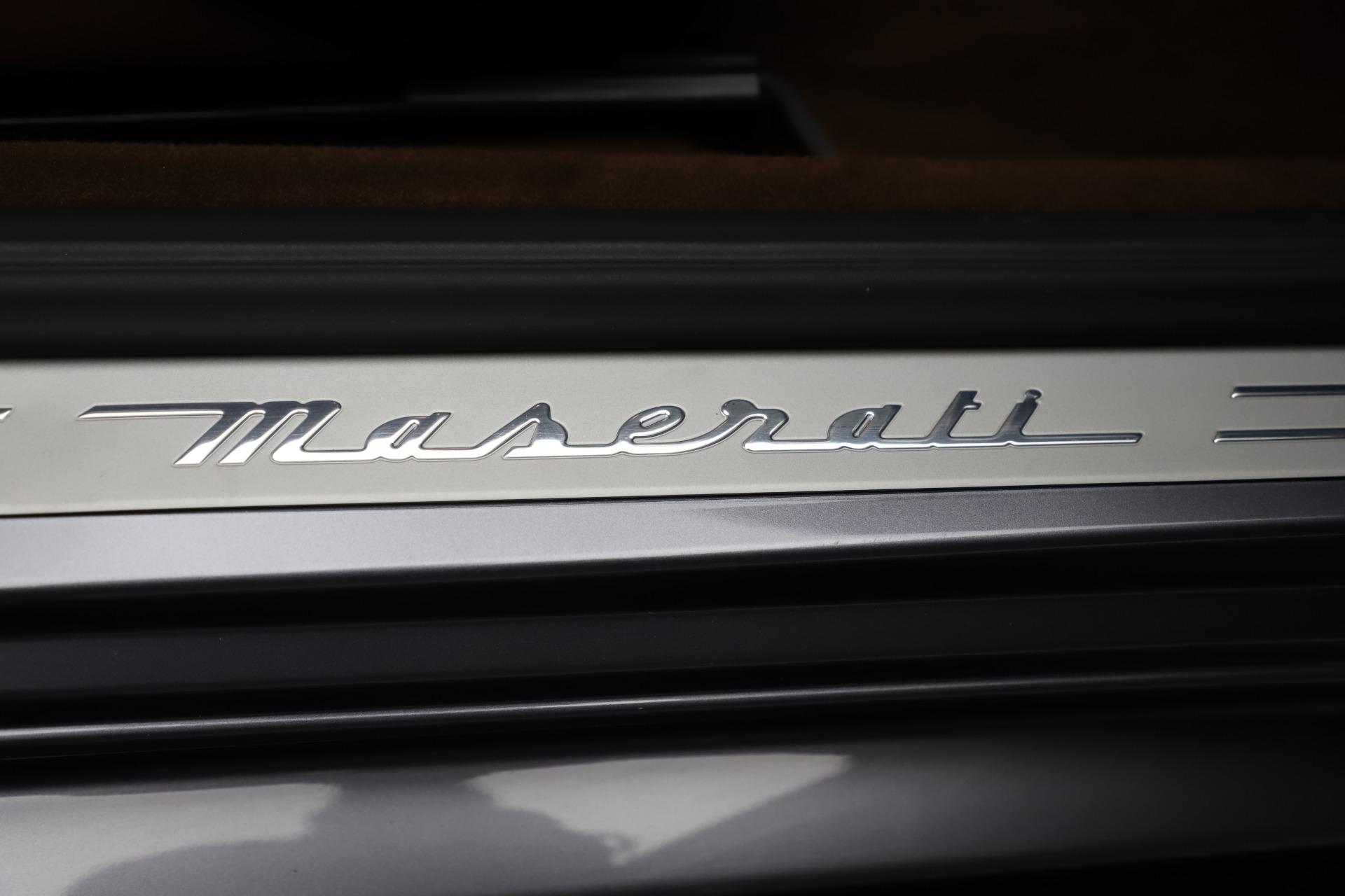Used 2016 Maserati GranTurismo Sport For Sale In Greenwich, CT 166_p22