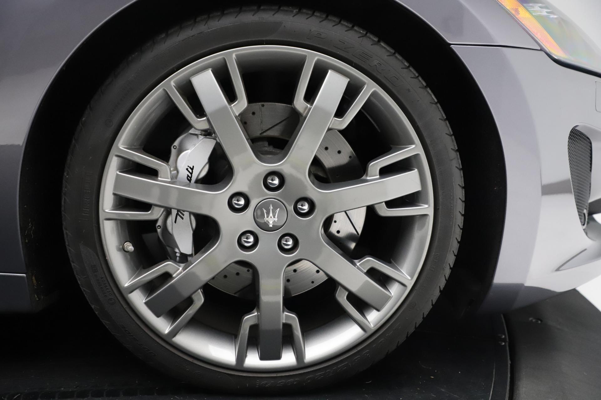 Used 2016 Maserati GranTurismo Sport For Sale In Greenwich, CT 166_p23