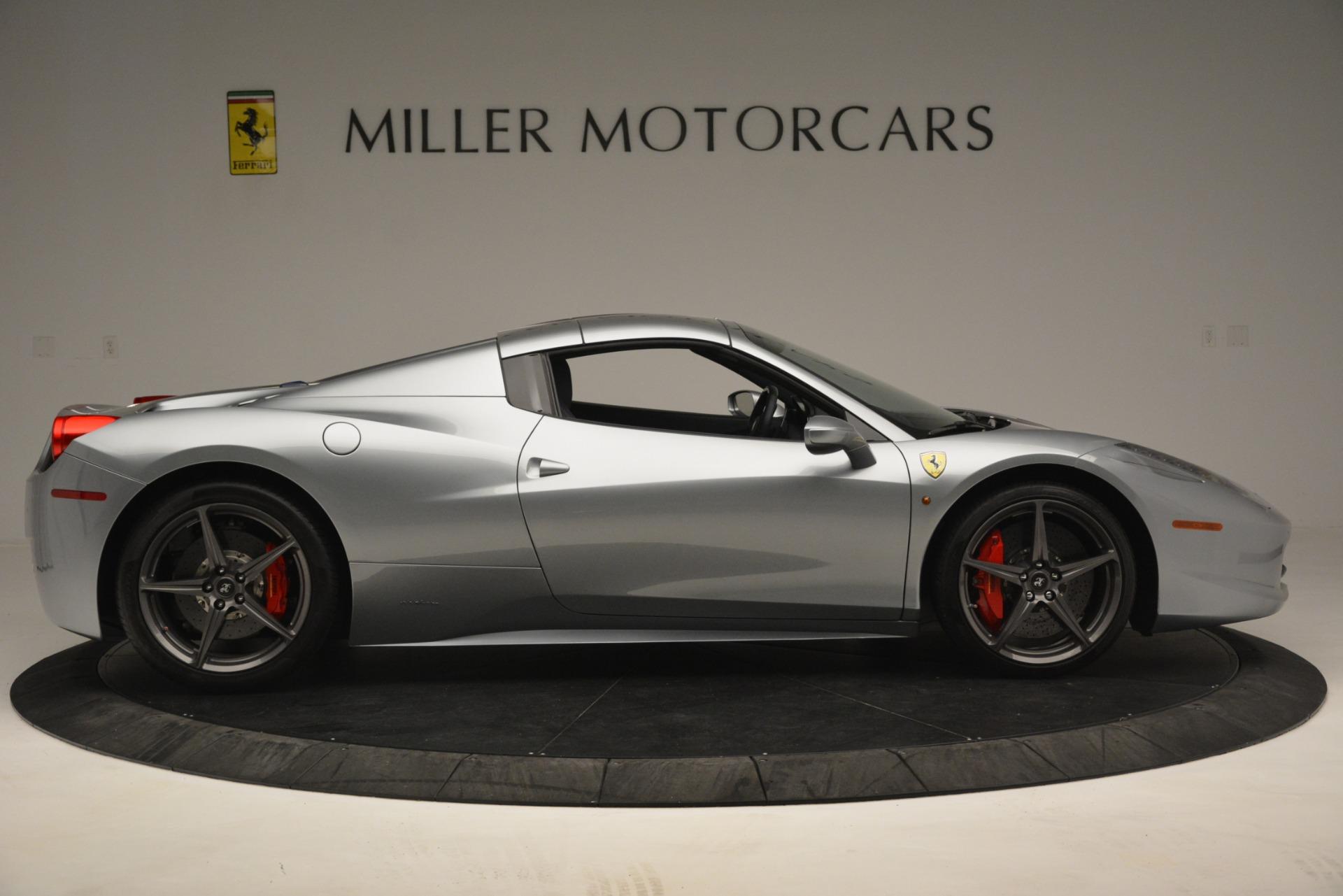 Used 2015 Ferrari 458 Spider  For Sale In Greenwich, CT 1667_p17