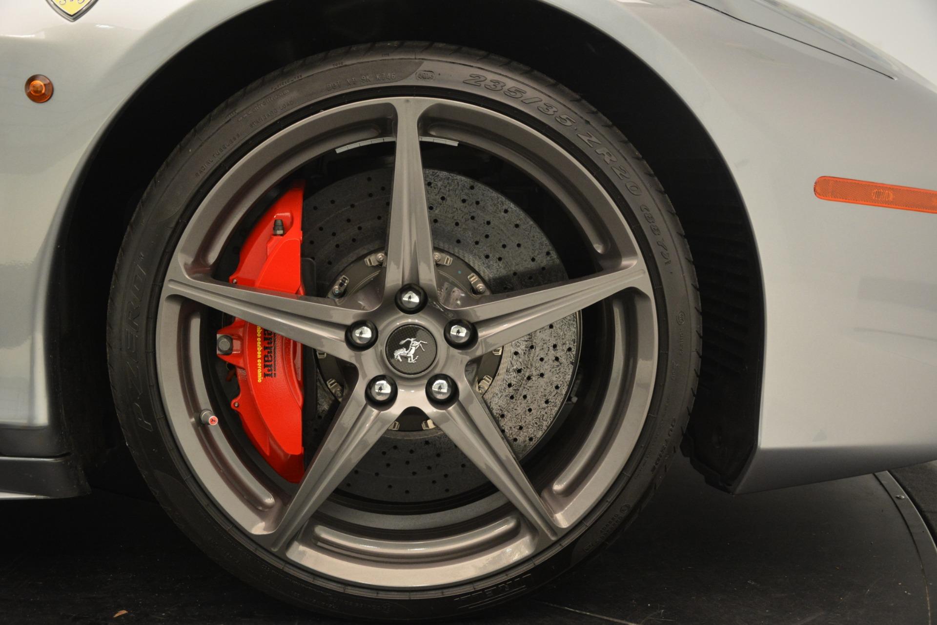 Used 2015 Ferrari 458 Spider  For Sale In Greenwich, CT 1667_p29