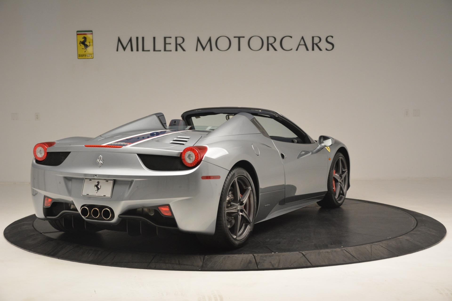 Used 2015 Ferrari 458 Spider  For Sale In Greenwich, CT 1667_p7
