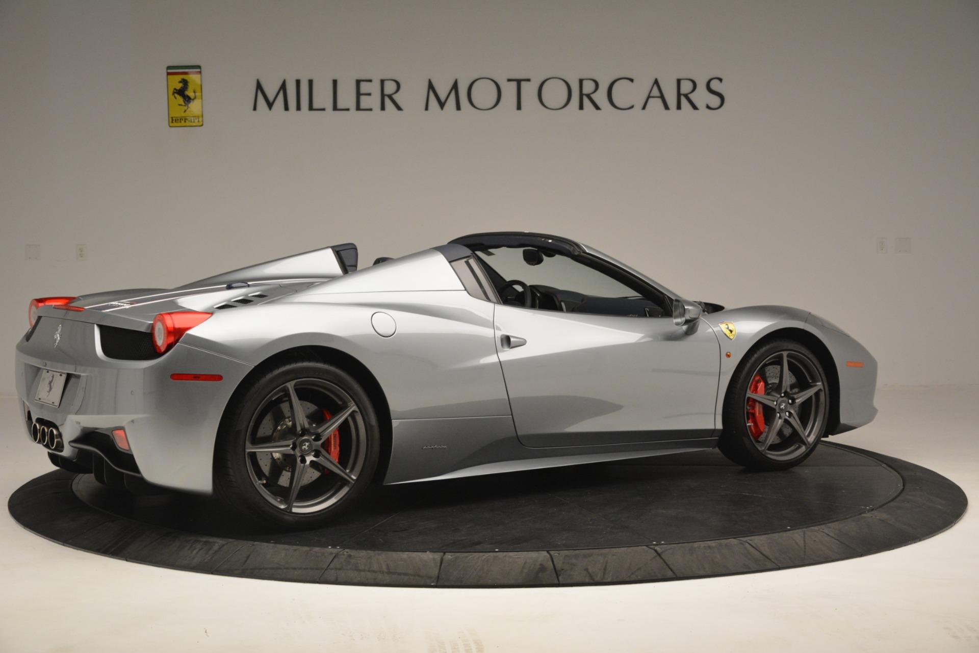 Used 2015 Ferrari 458 Spider  For Sale In Greenwich, CT 1667_p8
