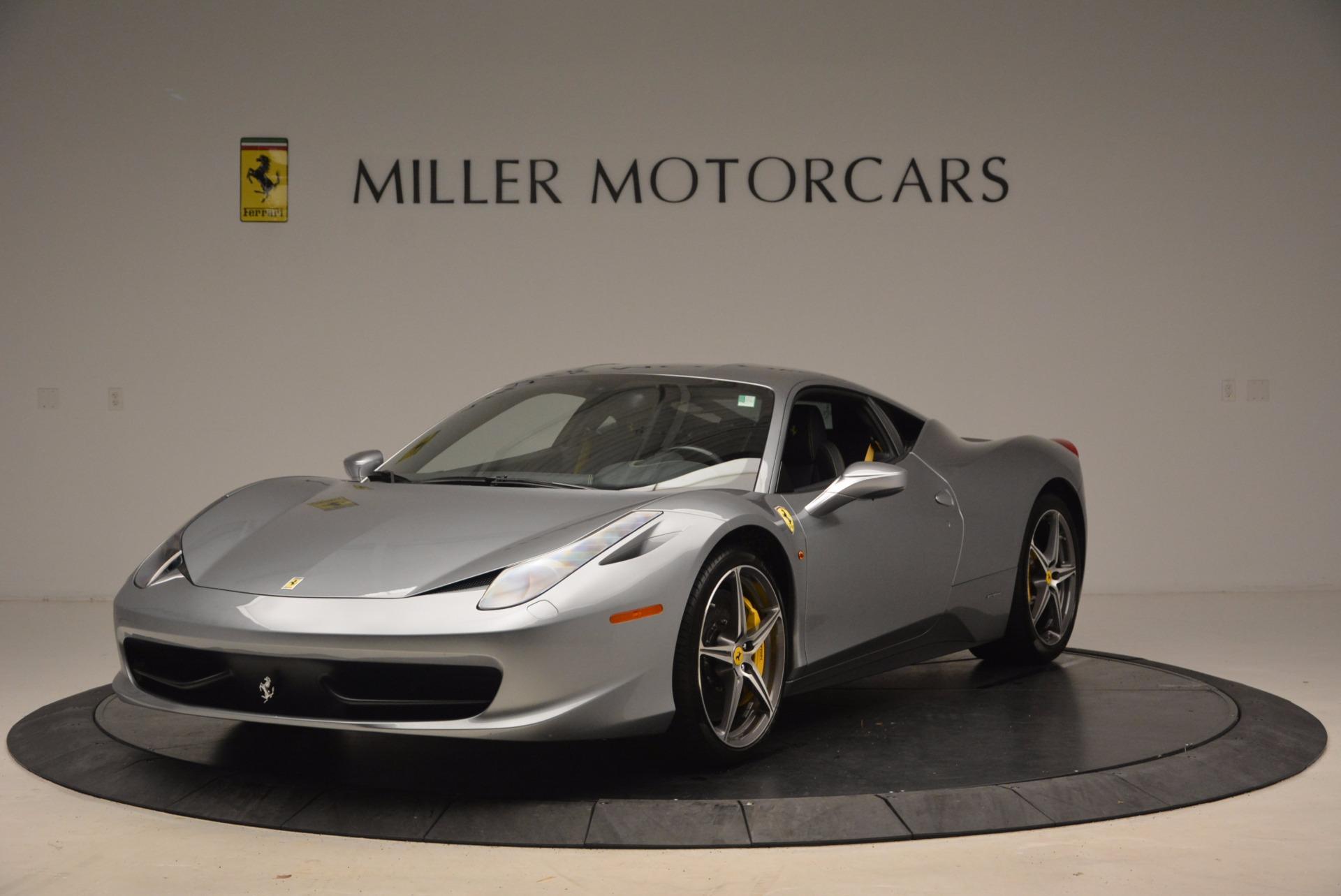 Used 2014 Ferrari 458 Italia  For Sale In Greenwich, CT 1669_main