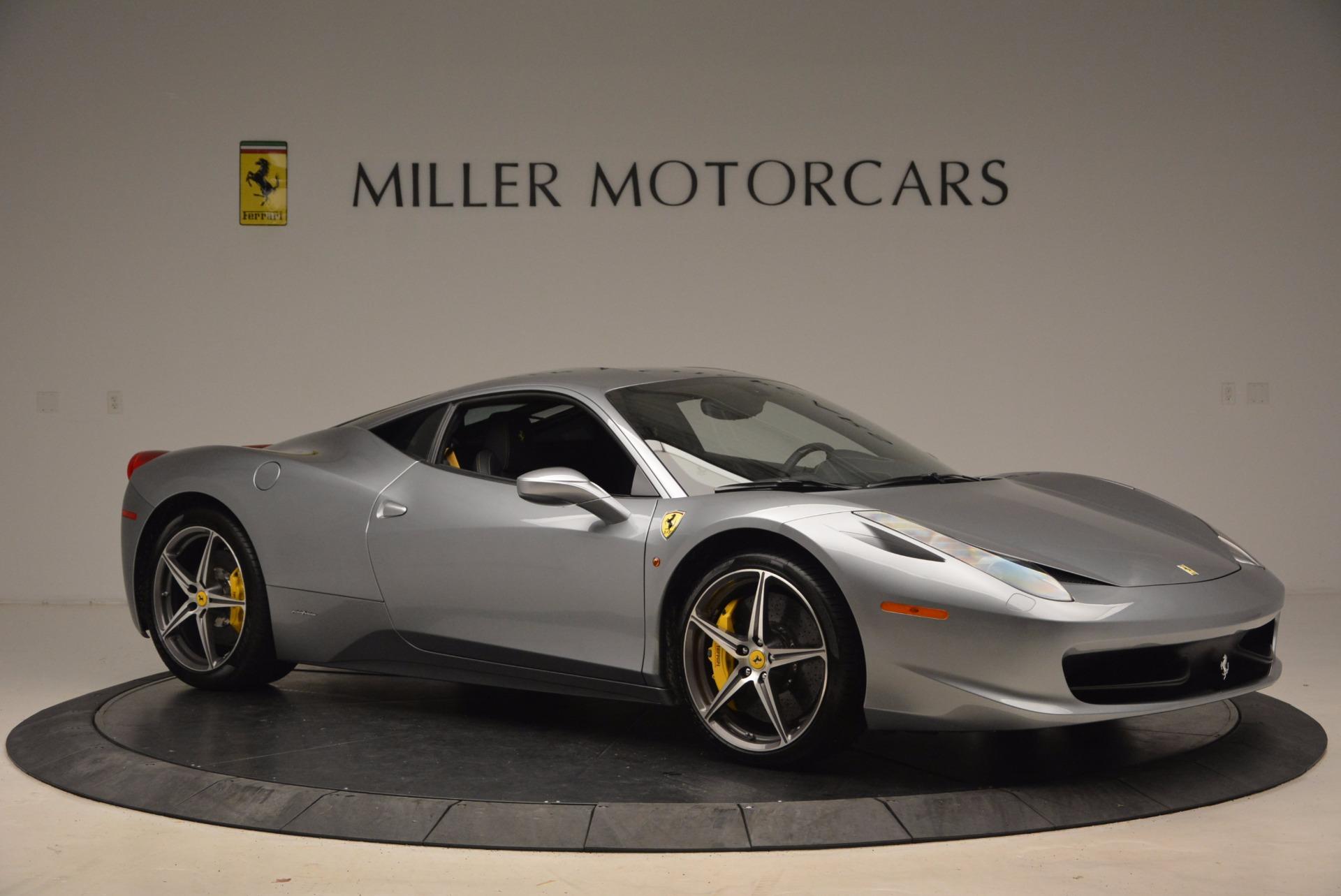 Used 2014 Ferrari 458 Italia  For Sale In Greenwich, CT 1669_p10