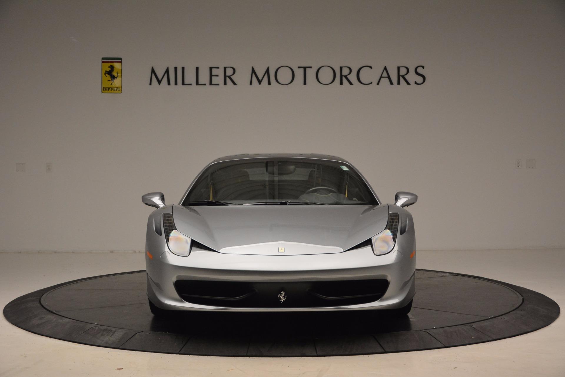Used 2014 Ferrari 458 Italia  For Sale In Greenwich, CT 1669_p12