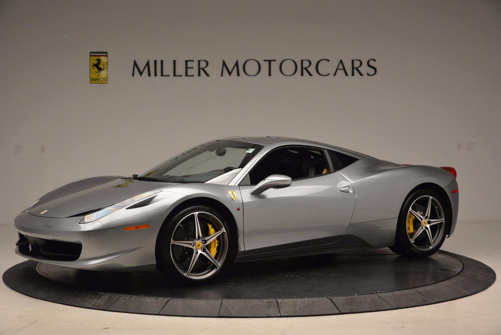 Used 2014 Ferrari 458 Italia  For Sale In Greenwich, CT 1669_p2