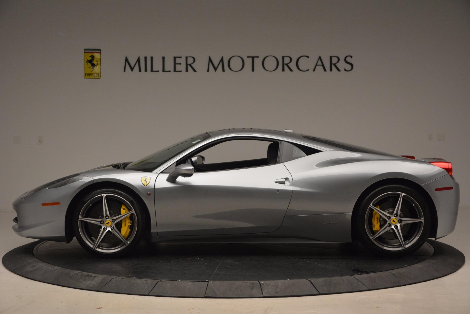 Used 2014 Ferrari 458 Italia  For Sale In Greenwich, CT 1669_p3