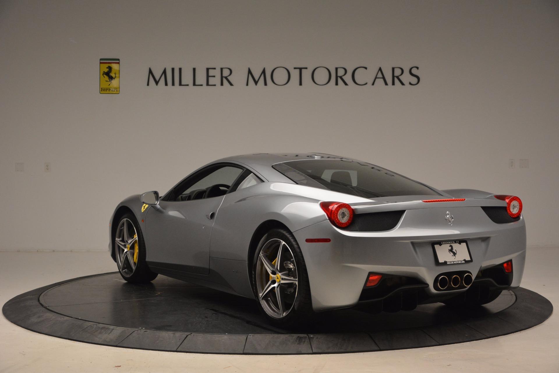 Used 2014 Ferrari 458 Italia  For Sale In Greenwich, CT 1669_p5