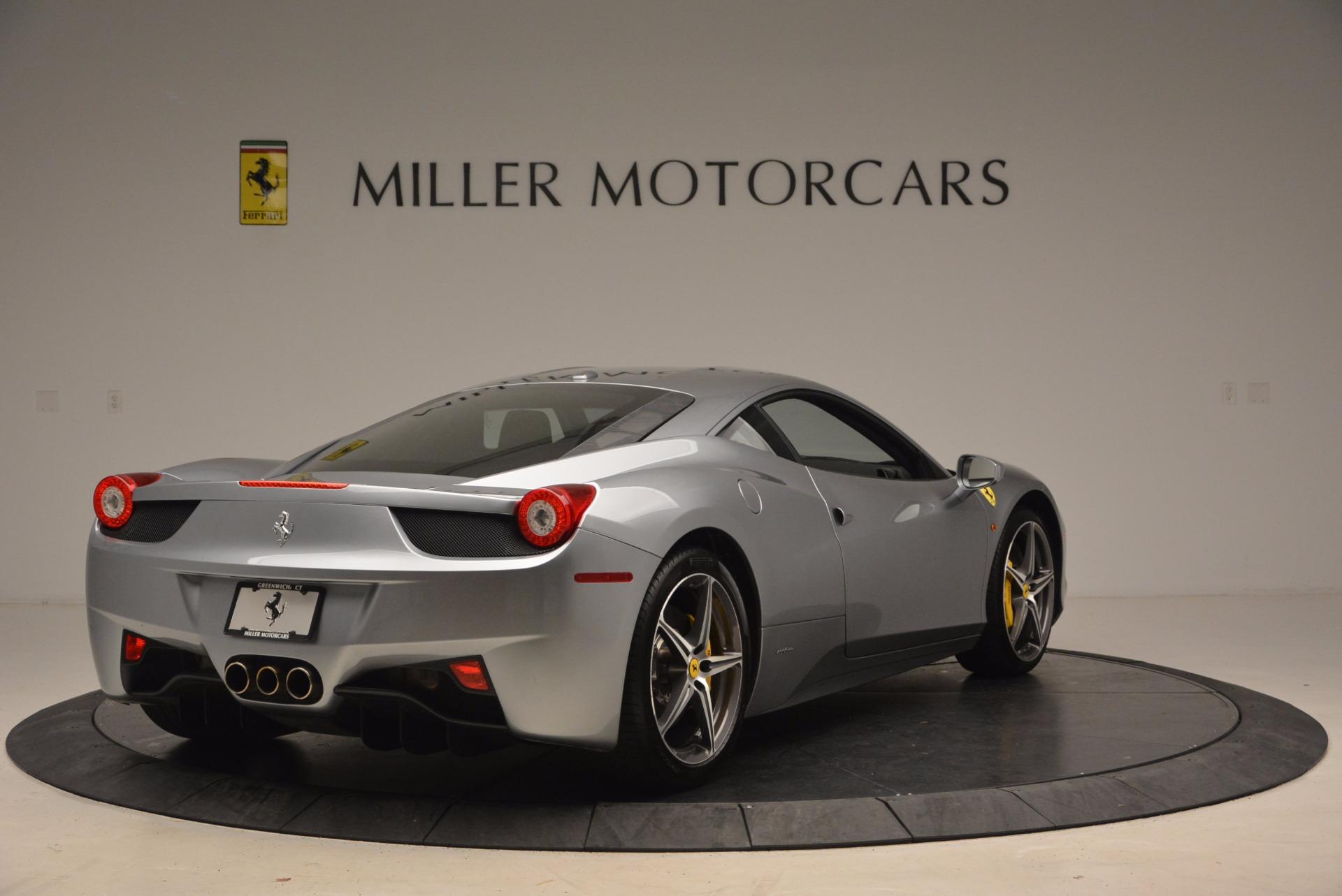Used 2014 Ferrari 458 Italia  For Sale In Greenwich, CT 1669_p7