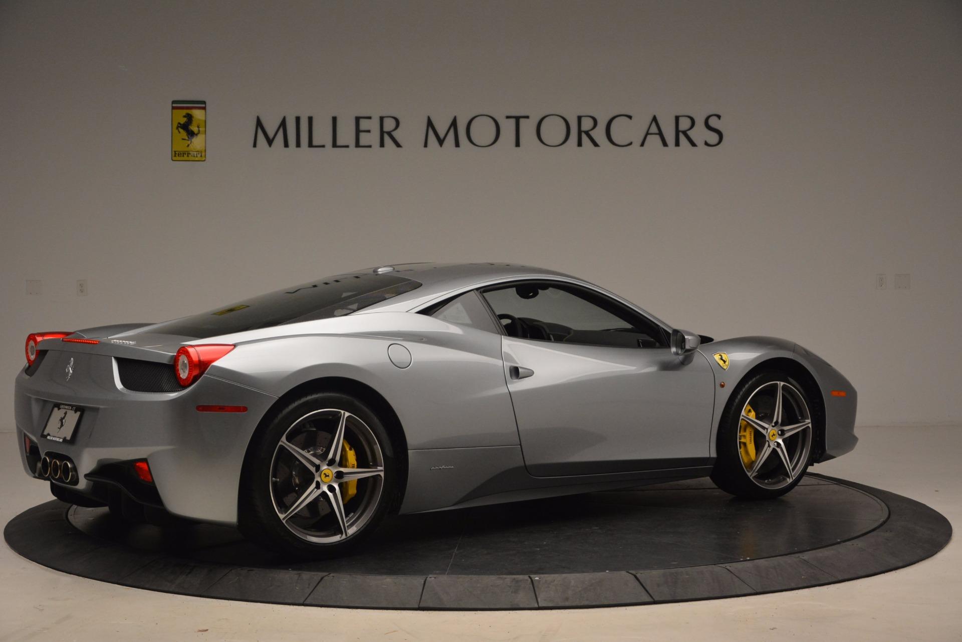 Used 2014 Ferrari 458 Italia  For Sale In Greenwich, CT 1669_p8