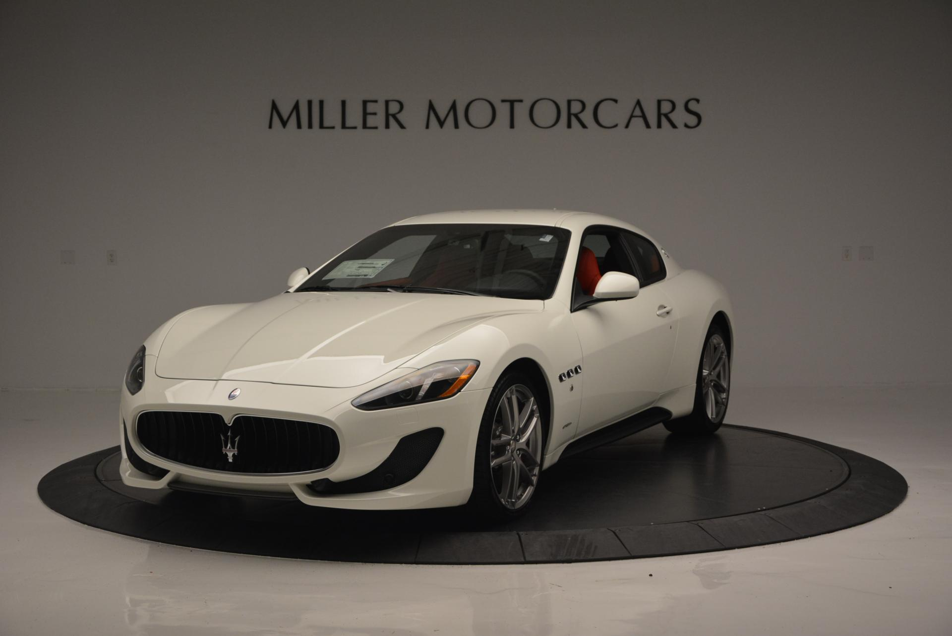 New 2017 Maserati GranTurismo Sport For Sale In Greenwich, CT 168_main