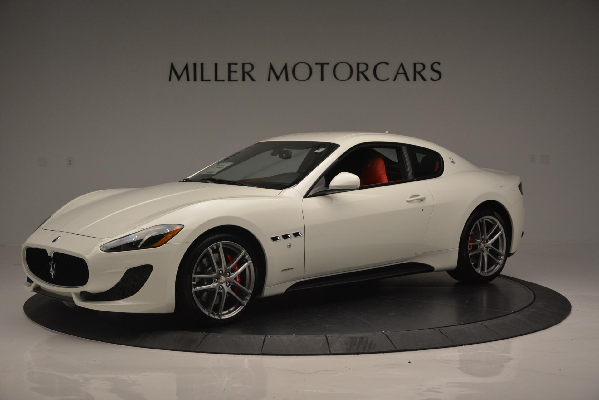 New 2017 Maserati GranTurismo Sport For Sale In Greenwich, CT 168_p2