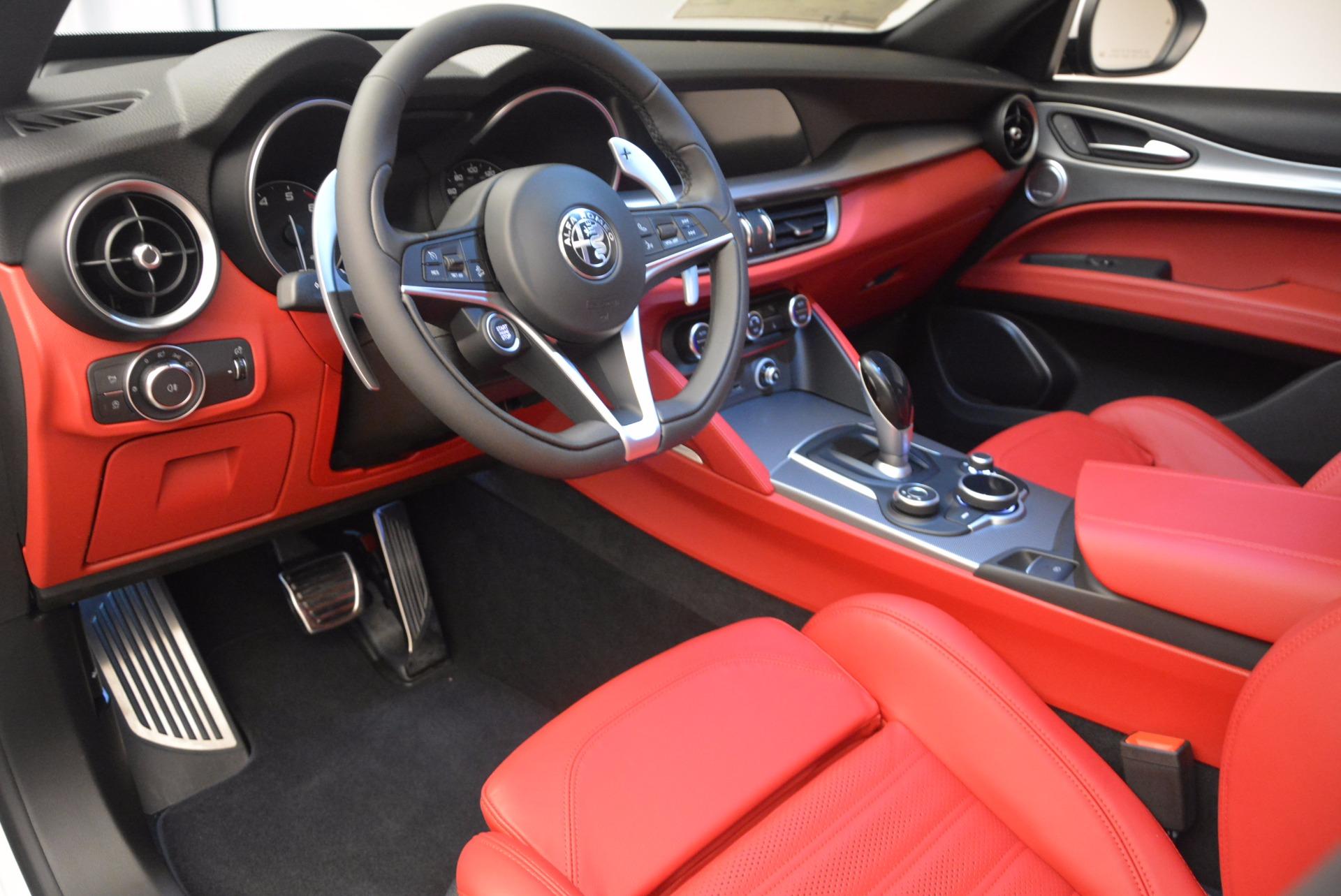 New 2018 Alfa Romeo Stelvio Ti Sport Q4 For Sale In Greenwich, CT 1684_p13