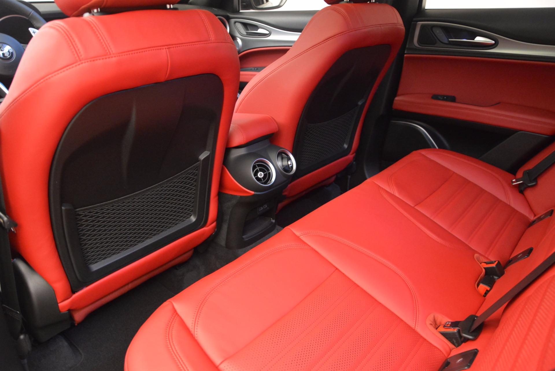 New 2018 Alfa Romeo Stelvio Ti Sport Q4 For Sale In Greenwich, CT 1684_p16