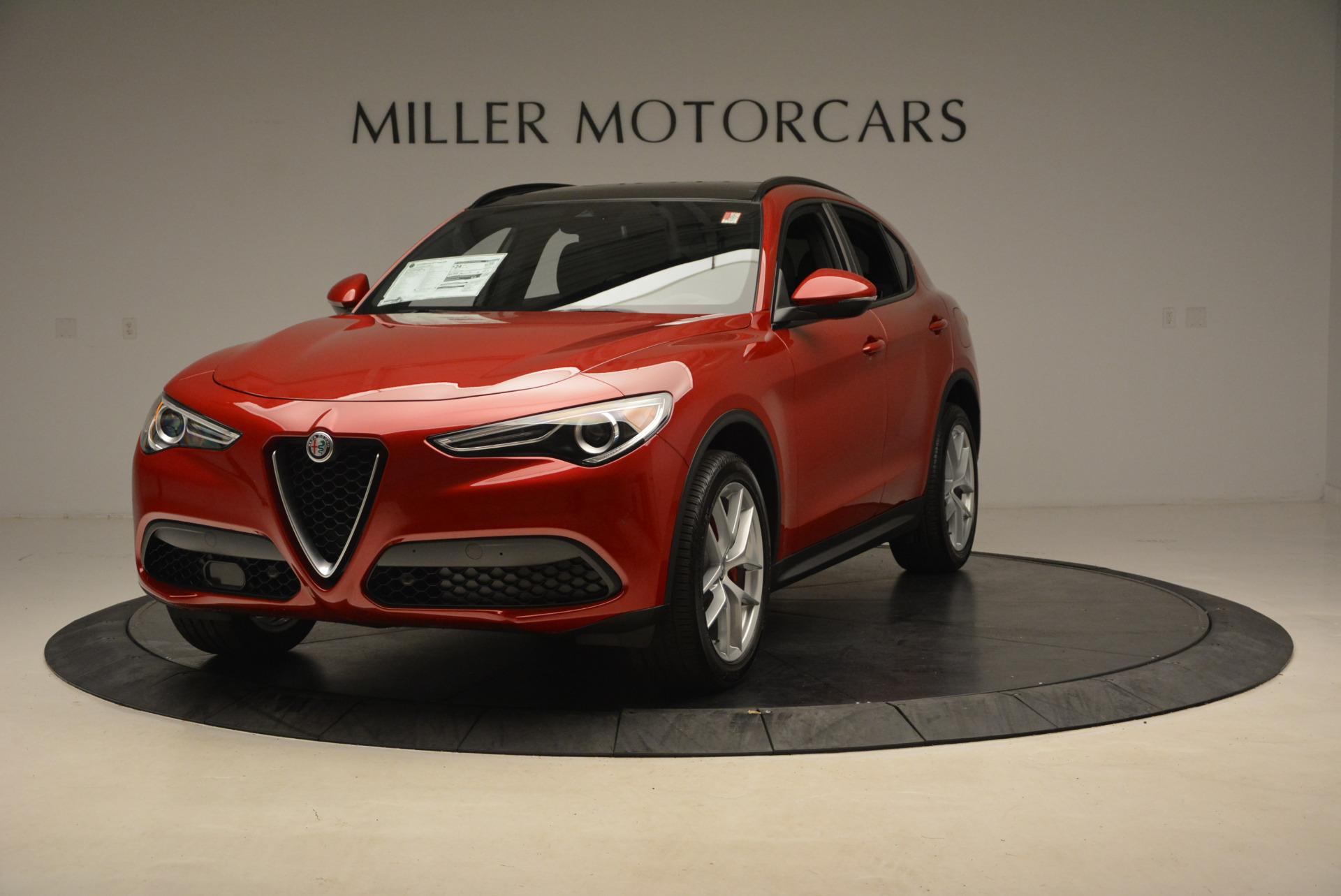 New 2018 Alfa Romeo Stelvio Ti Sport Q4 For Sale In Greenwich, CT 1689_main