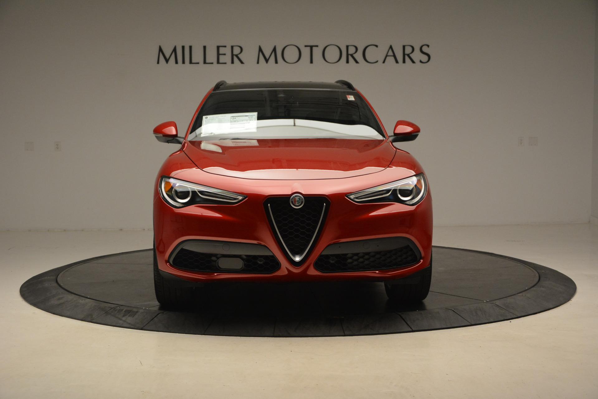 New 2018 Alfa Romeo Stelvio Ti Sport Q4 For Sale In Greenwich, CT 1689_p12
