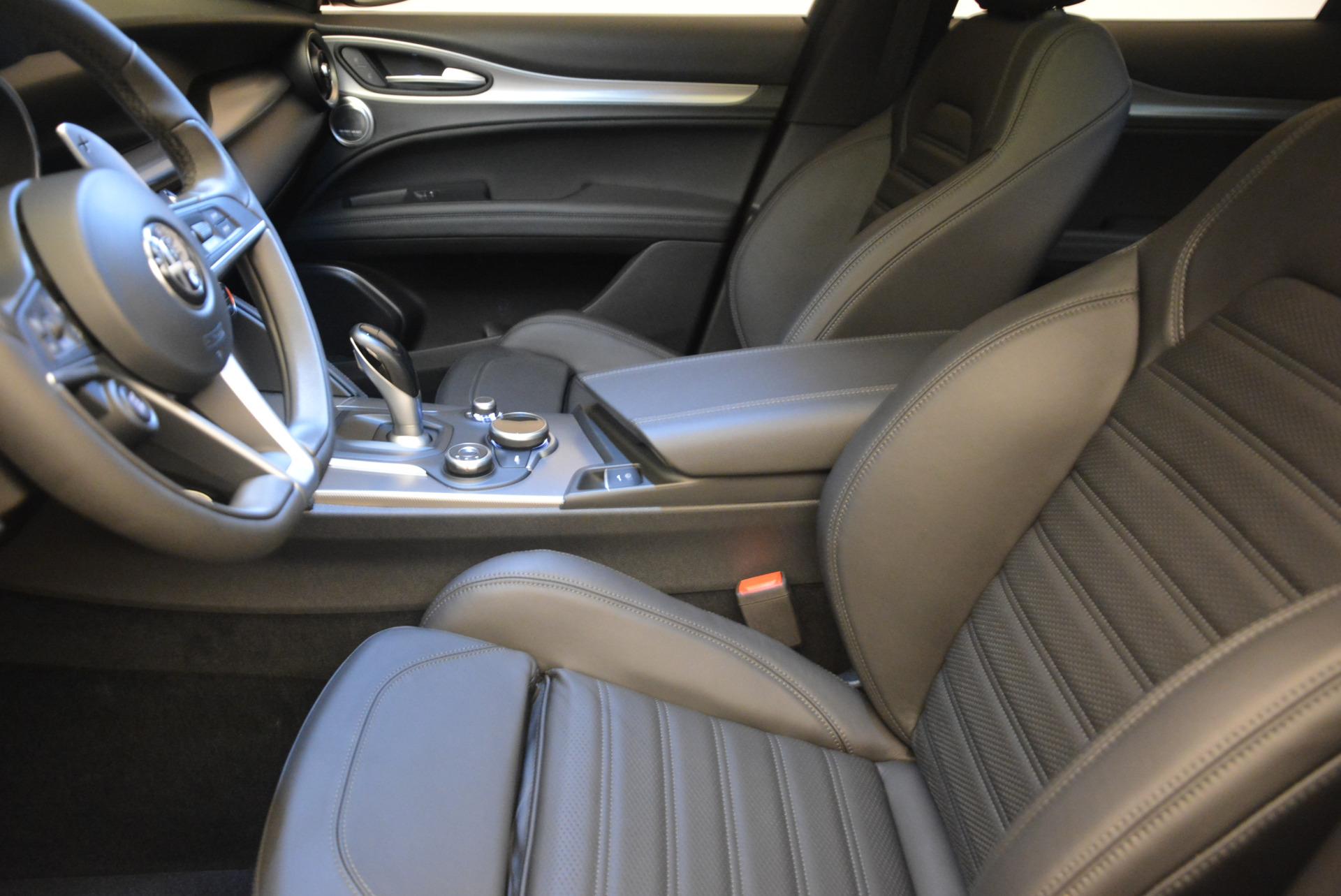 New 2018 Alfa Romeo Stelvio Ti Sport Q4 For Sale In Greenwich, CT 1689_p14