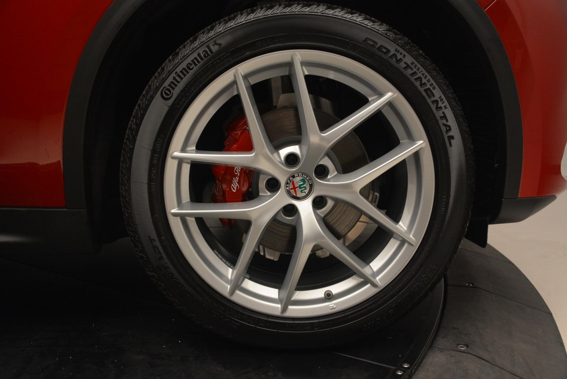 New 2018 Alfa Romeo Stelvio Ti Sport Q4 For Sale In Greenwich, CT 1689_p25