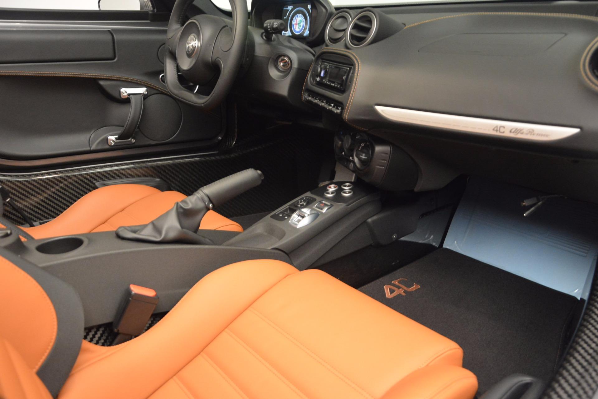 New 2018 Alfa Romeo 4C Spider For Sale In Greenwich, CT 1693_p28