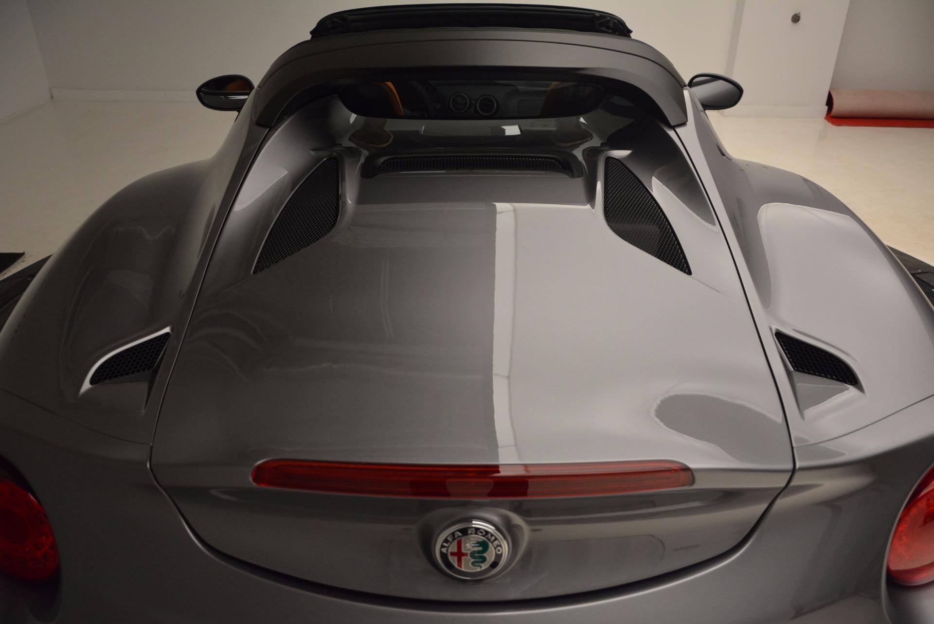 New 2018 Alfa Romeo 4C Spider For Sale In Greenwich, CT 1693_p32