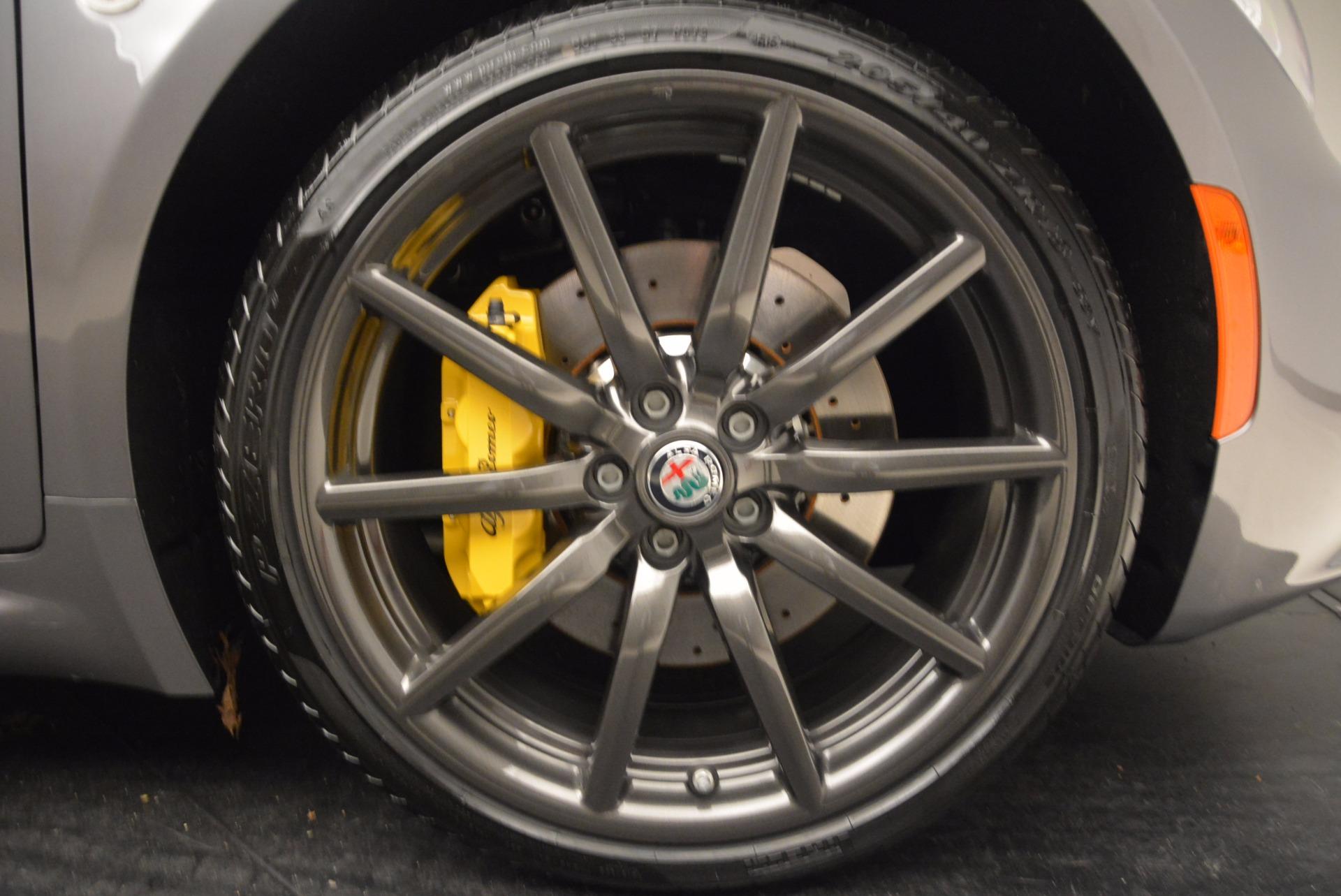 New 2018 Alfa Romeo 4C Spider For Sale In Greenwich, CT 1693_p33