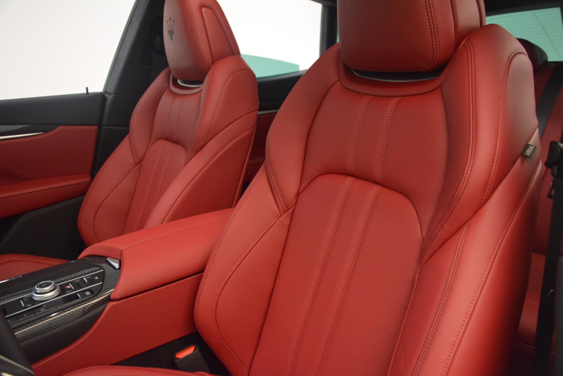 New 2018 Maserati Levante Q4 GranSport For Sale In Greenwich, CT 1701_p17