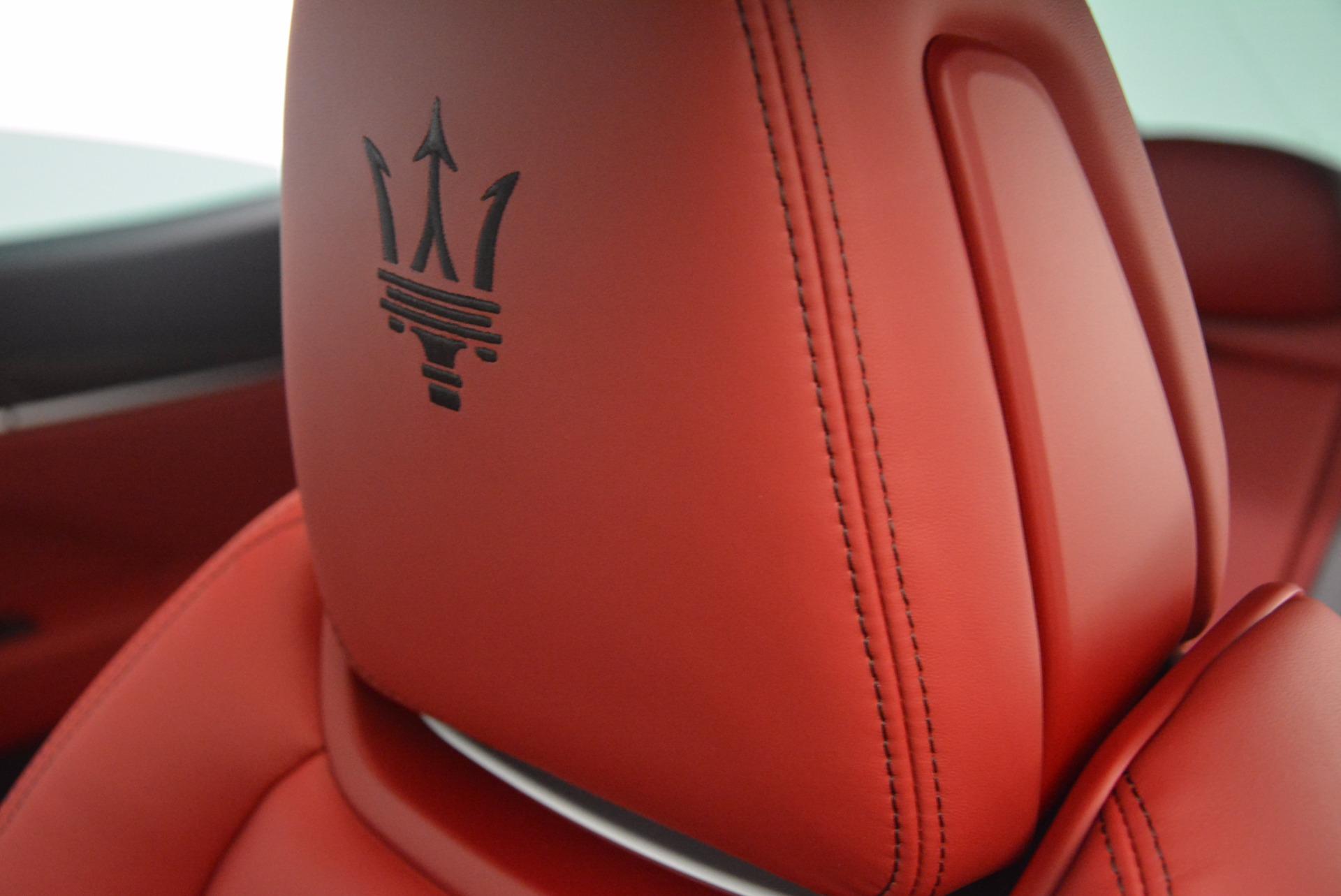 New 2018 Maserati Levante Q4 GranSport For Sale In Greenwich, CT 1701_p18