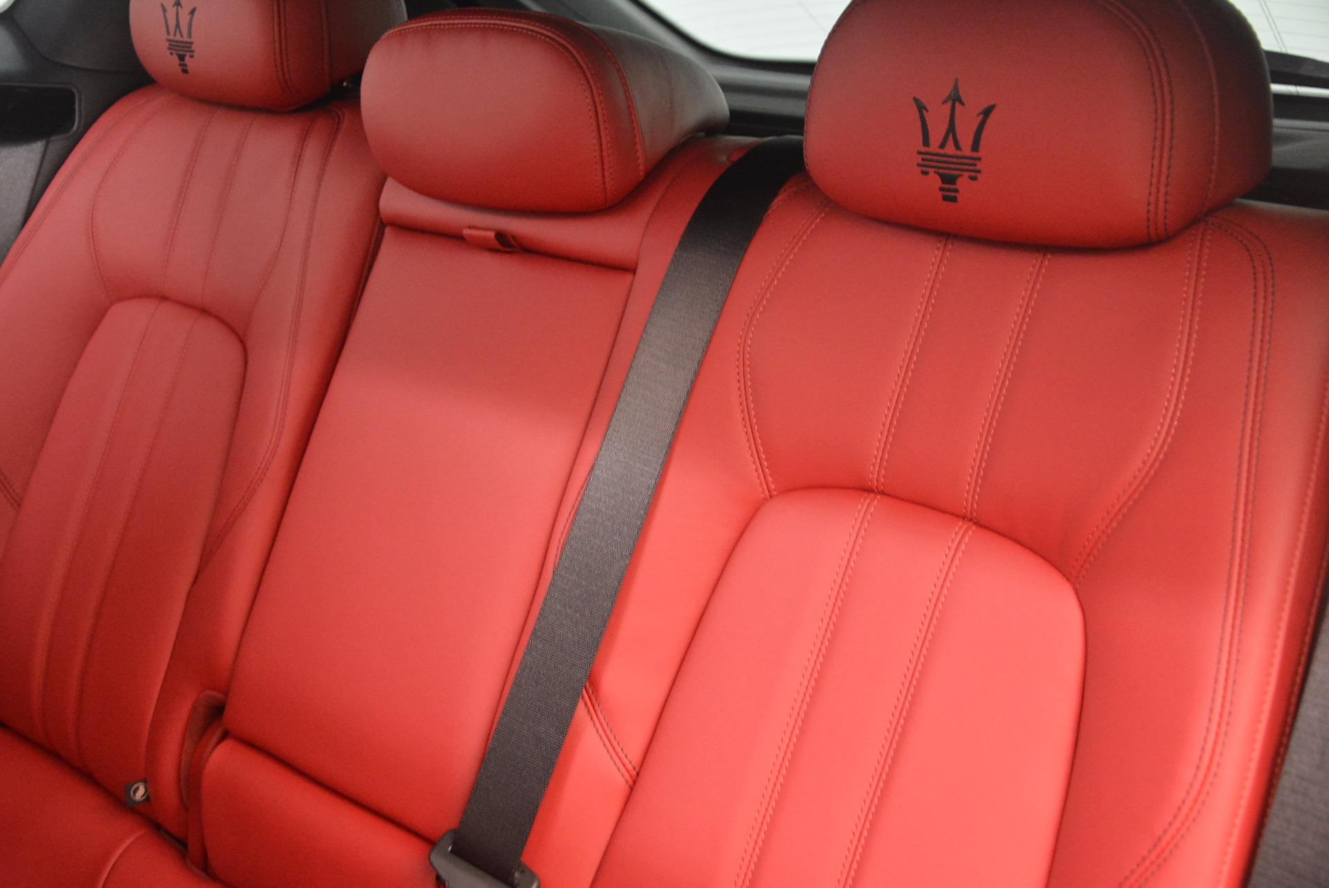 New 2018 Maserati Levante Q4 GranSport For Sale In Greenwich, CT 1701_p22