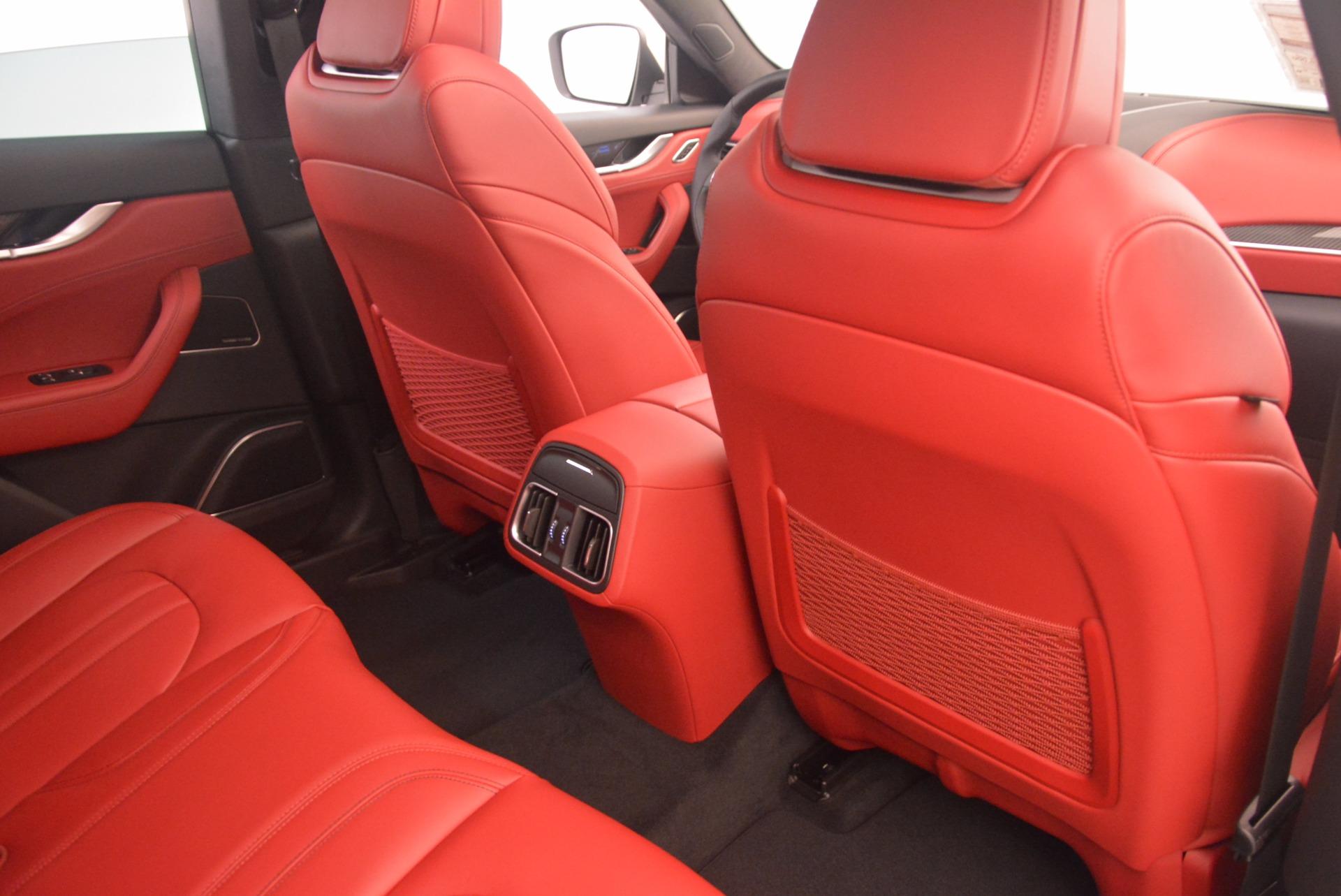 New 2018 Maserati Levante Q4 GranSport For Sale In Greenwich, CT 1701_p24