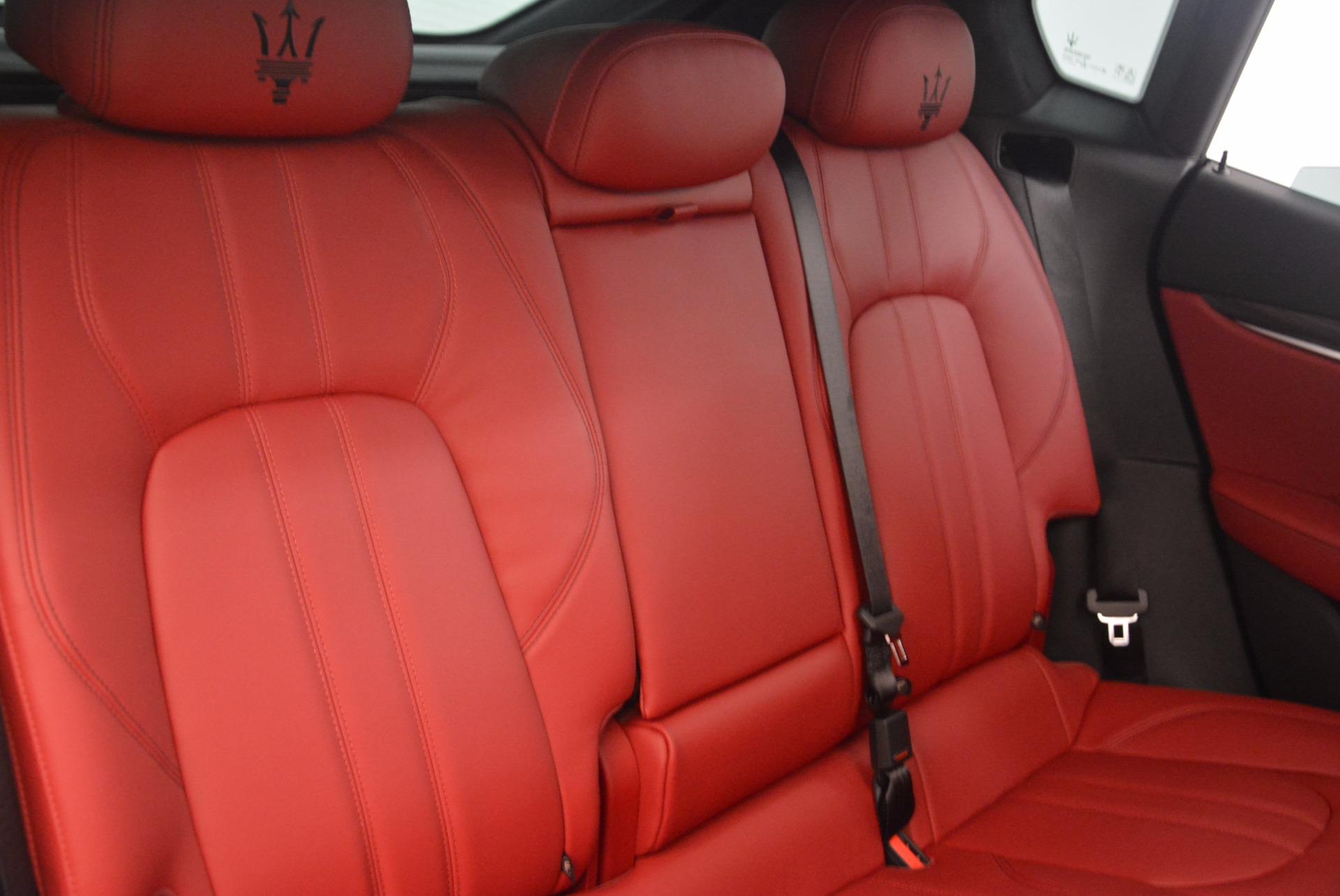 New 2018 Maserati Levante Q4 GranSport For Sale In Greenwich, CT 1701_p26