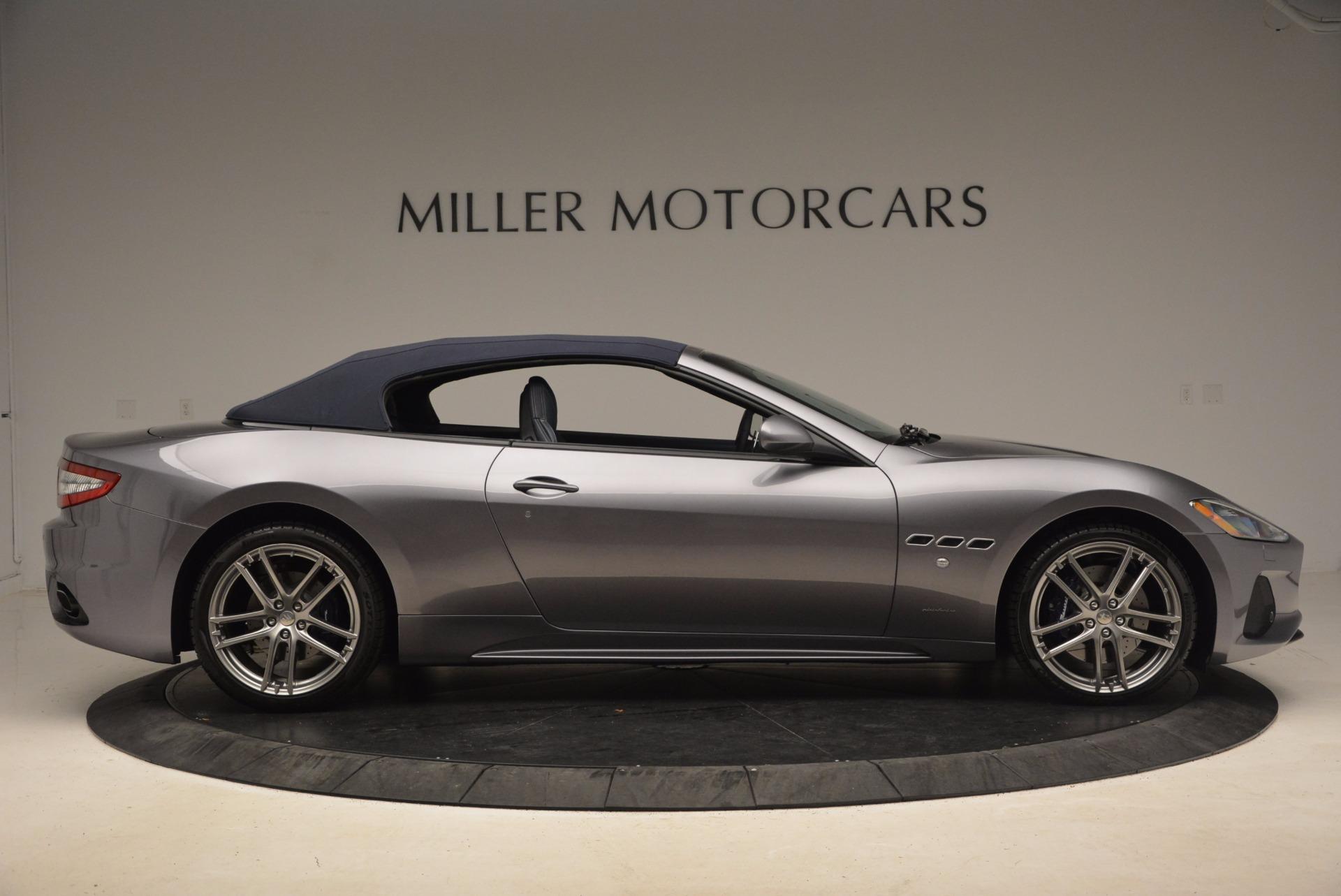 New 2018 Maserati GranTurismo Sport Convertible For Sale In Greenwich, CT 1703_p18