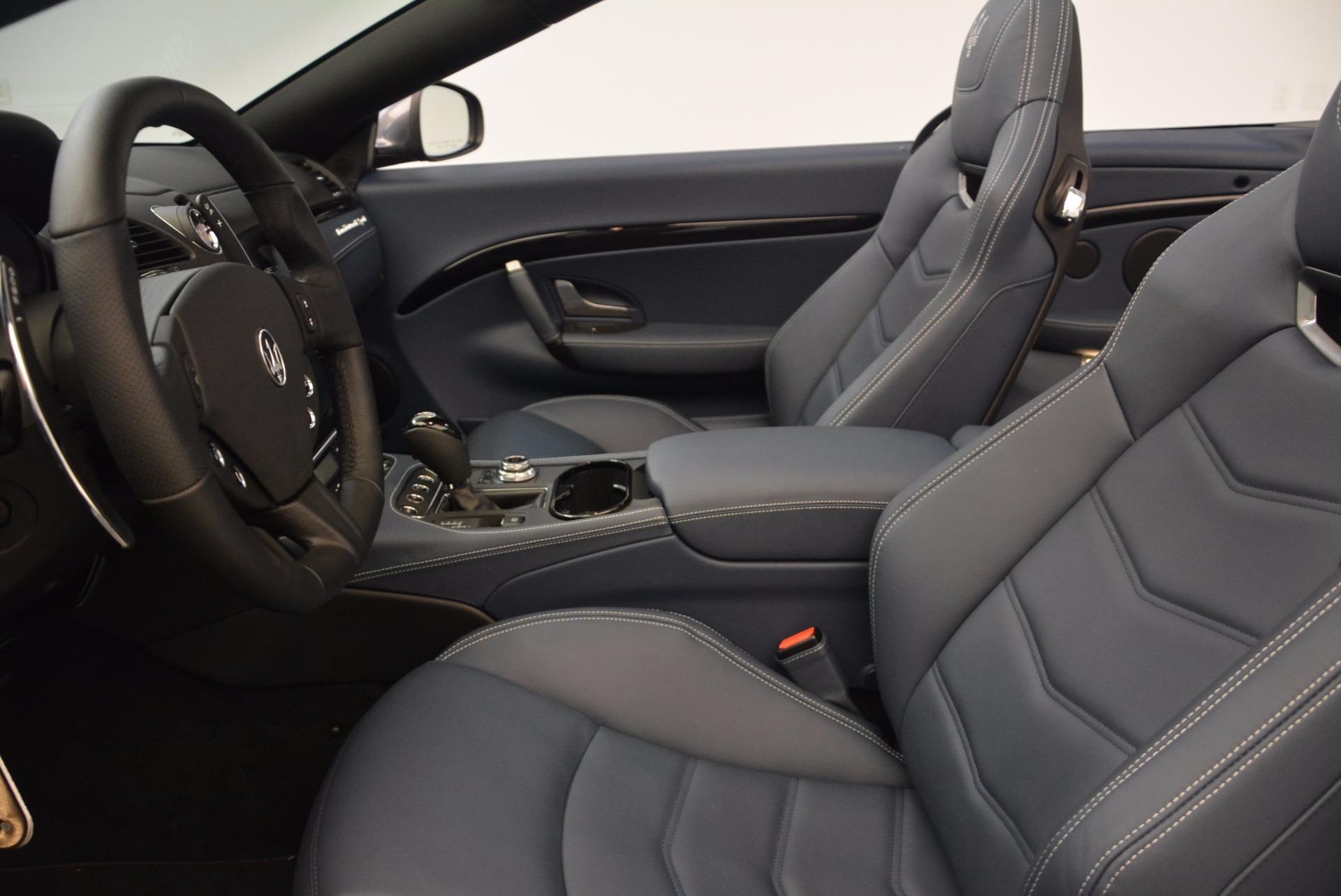 New 2018 Maserati GranTurismo Sport Convertible For Sale In Greenwich, CT 1703_p27