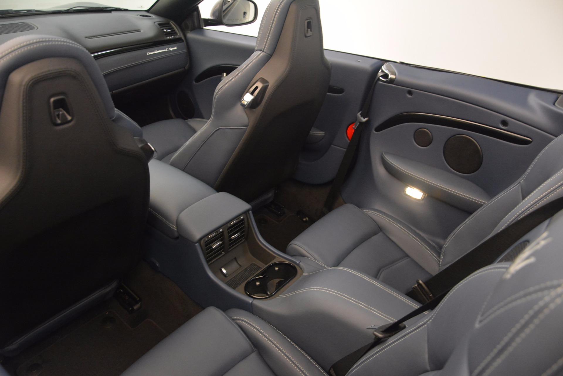New 2018 Maserati GranTurismo Sport Convertible For Sale In Greenwich, CT 1703_p29